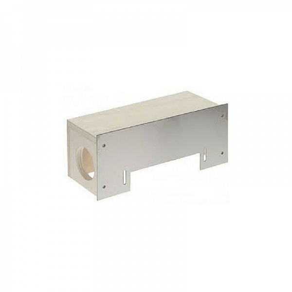 Installation box for automatic dustpan