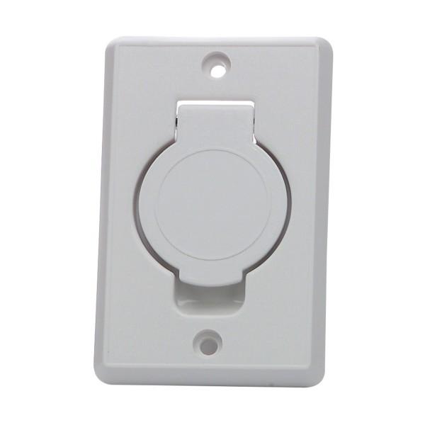 Inlet valve round door standard